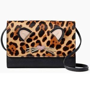 Kate Spade Leopard Summer Run Wild Crossbody Bag